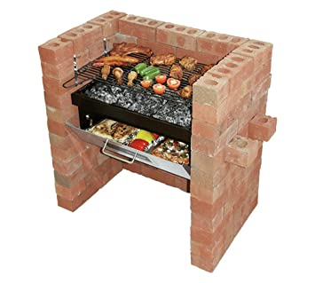 Construir en Grill y Bake barbacoa: Amazon.es: Jardín