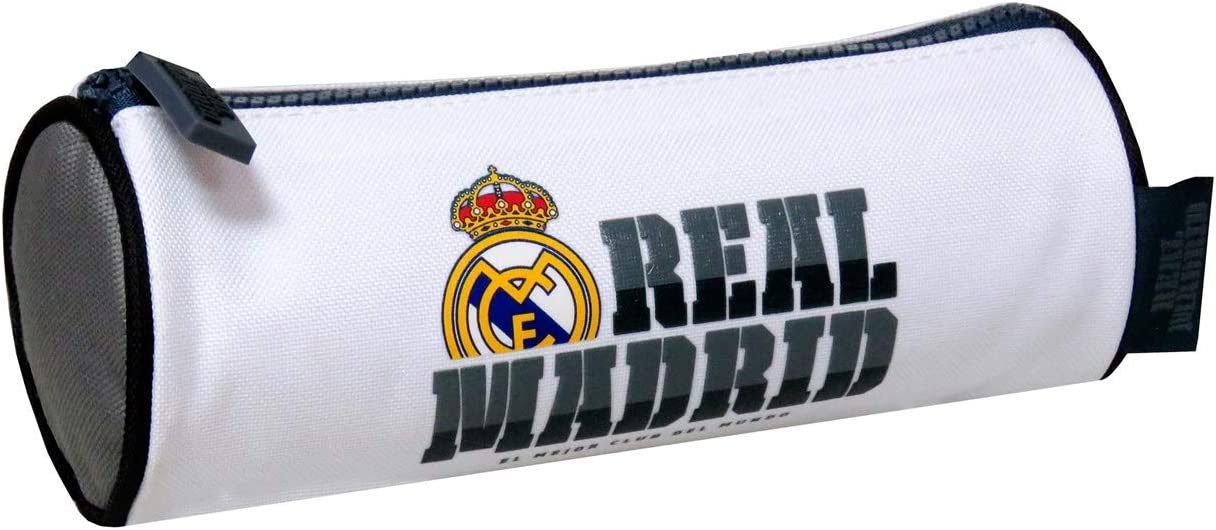 Real Madrid PT-295-RM Portatodo Cilíndrico: Amazon.es: Oficina y papelería