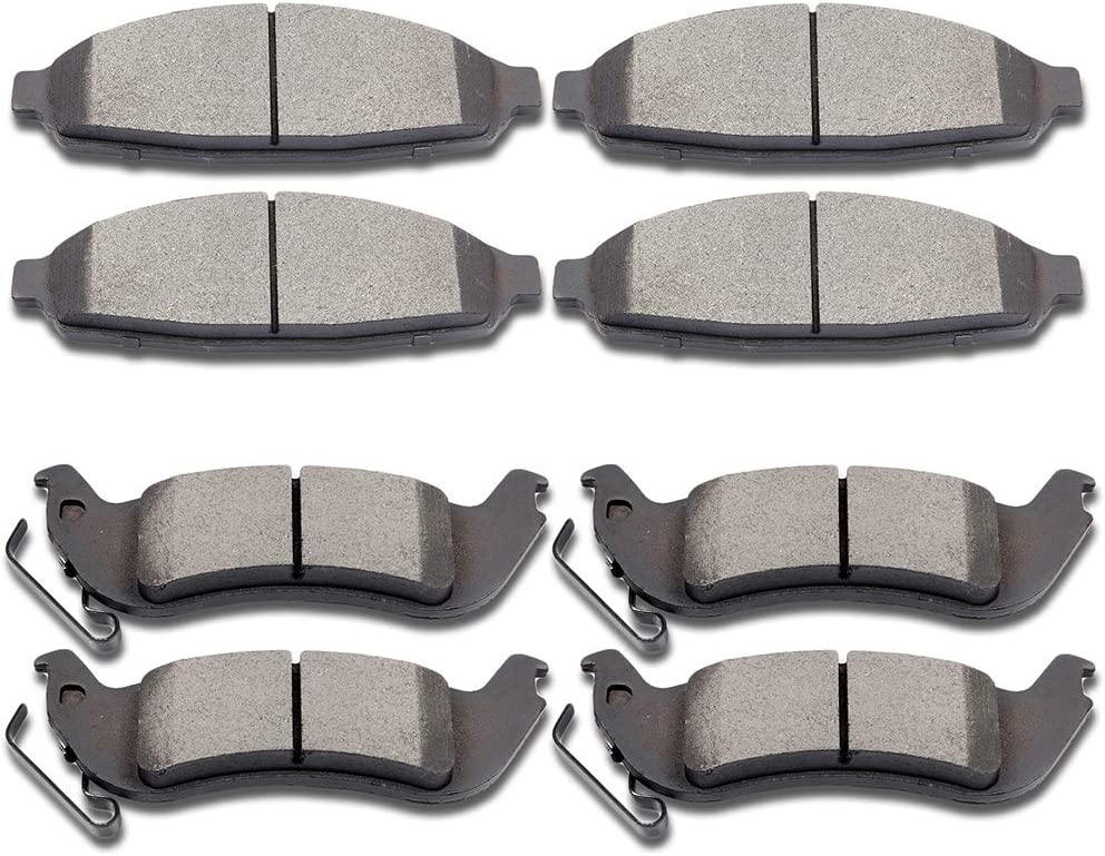 Ford Lincoln Front Disc Brake Pads ceramic BCD931H fits 03-11 Mercury