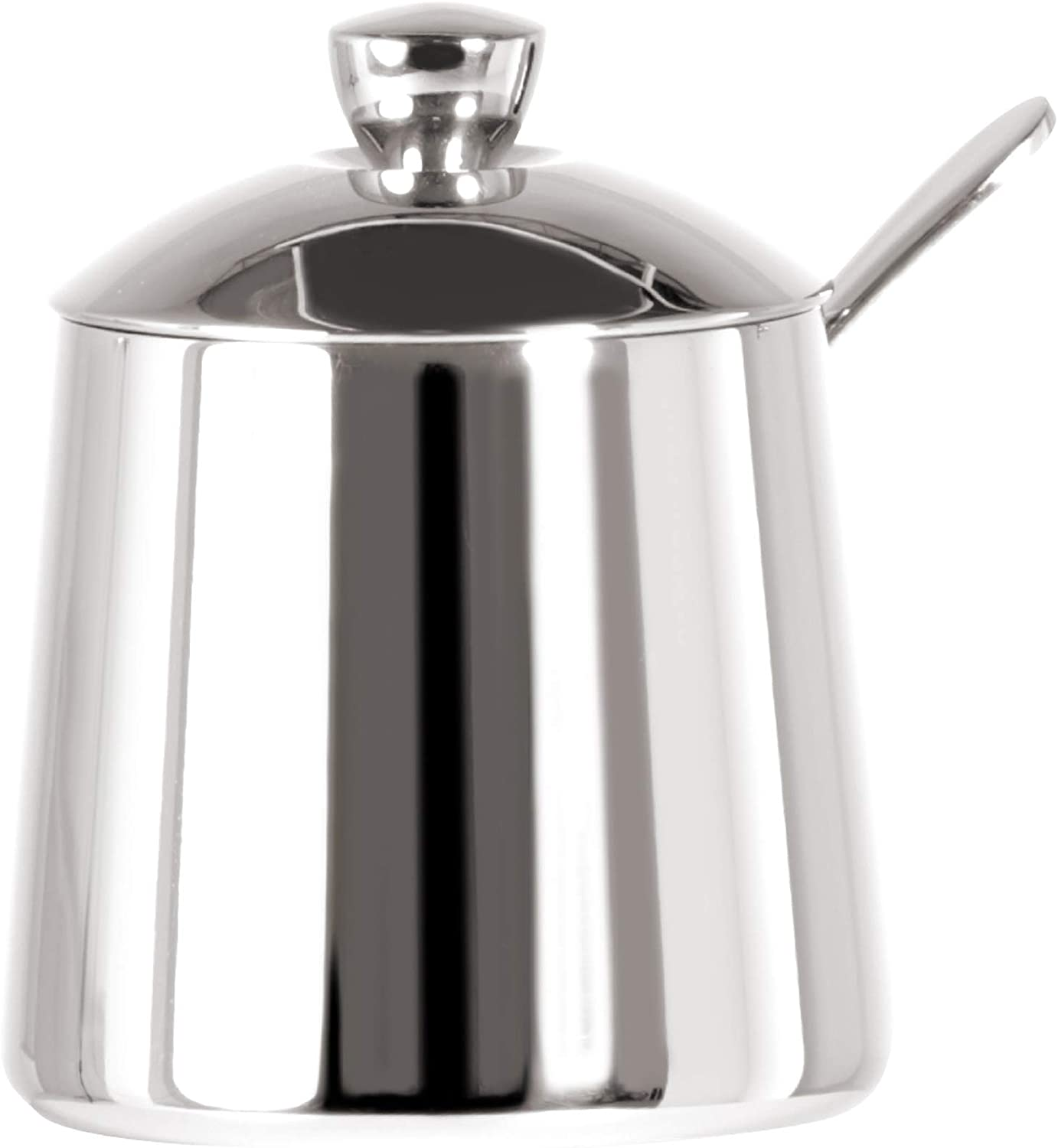 Frieling USA 18/10 Stainless Steel Sugar Bowl and Spoon Set