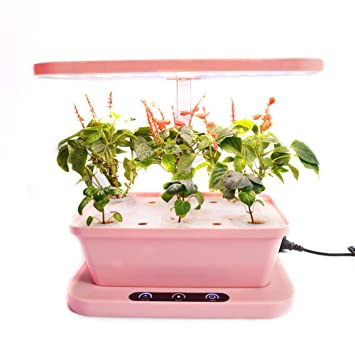 SWM LED Indoor Herb Grower Intelligent Control Hydroponics Grower Kit  Garden Plant Grower Grow Lights For
