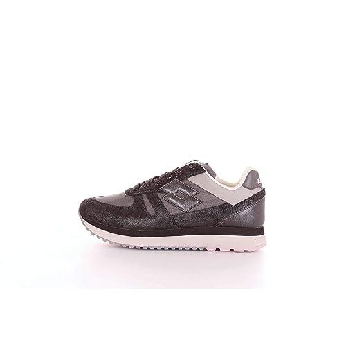 Lotto Sneakers Tokyo Wedge Glitter W Nero Laminato T4628  Amazon.it  Scarpe  e borse f8b9cc985c2