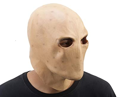 Amazon com: PARTY STORY Slender Man Ghost Adult Scary Mask