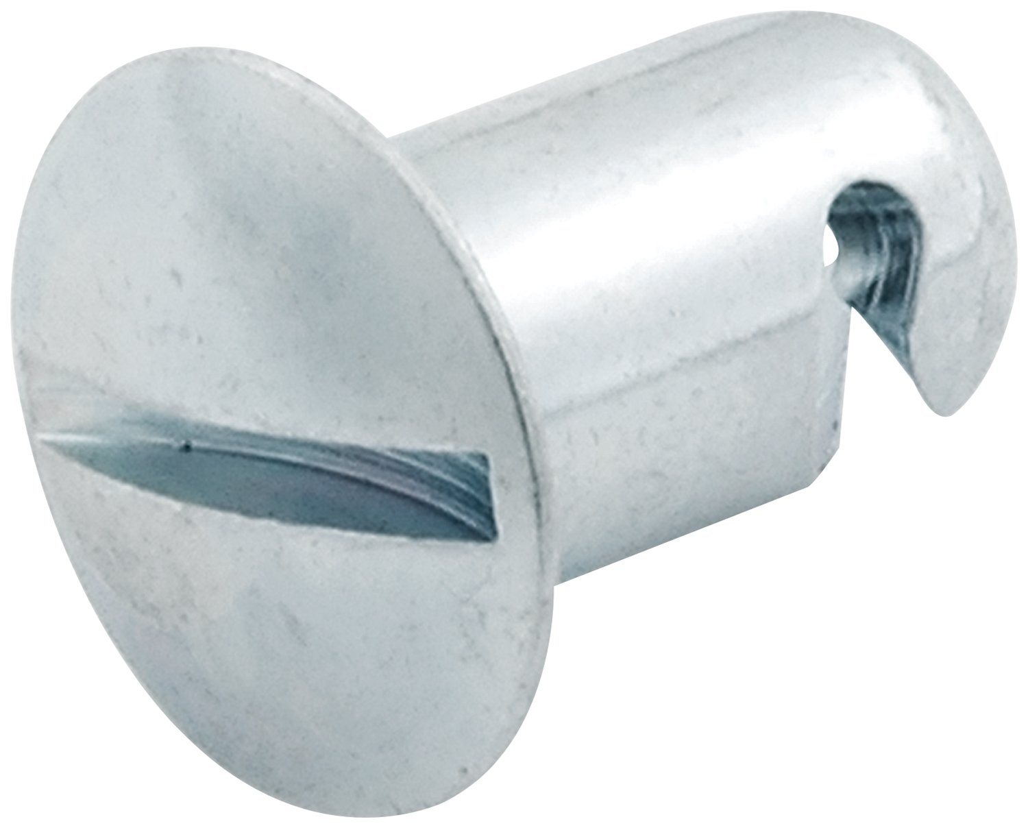 Allstar Performance ALL19232 0.550'' Long Steel Quick Turn Oval Head Button, (Pack of 50)
