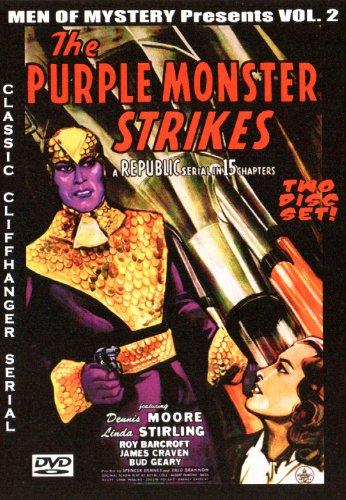 The Purple Monster Strikes Cliffhanger Serial Dvd