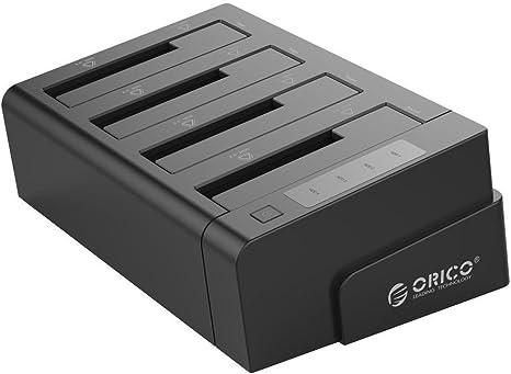 ORICO 4 bahías SATA a USB 3.0 Estación con función de clonación de ...