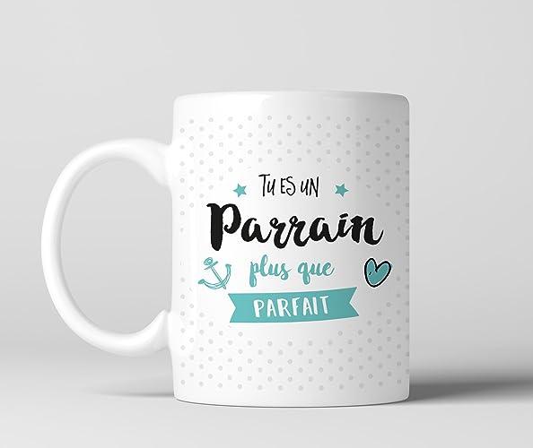 Recto Plus Parfait Tu Mug Cadeau Un Que Impression Es Parrain dxstQBhrC