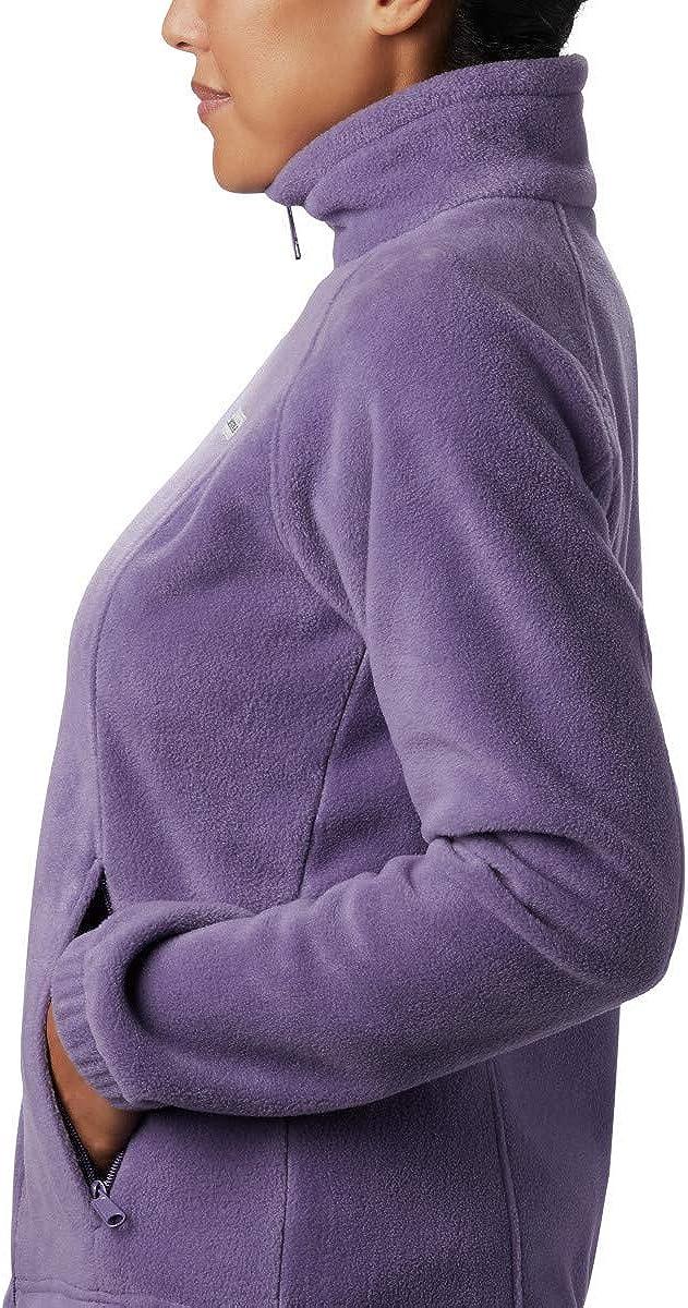 Soft Fleece With Classic Fit Fleece Jacket Columbia womens Benton Springs Full Zip Jacket