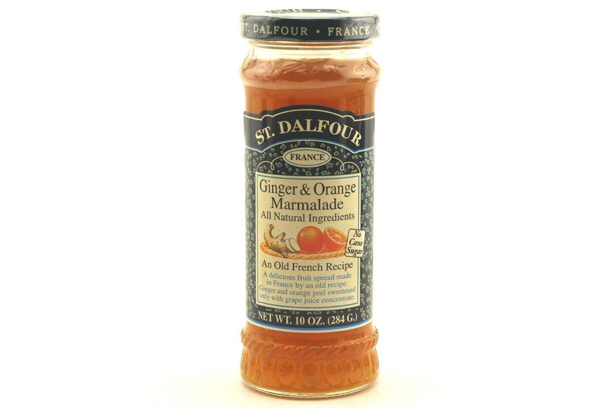Ginger & Orange Marmalade Spreads (All Natural 100% Fruit Jam) - 10oz (Pack of 1)