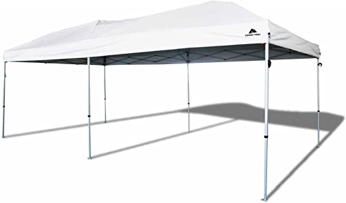 Ozark Trail 20×10 Straight Leg Instant Canopy 200'sq. ft Coverage