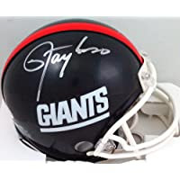$105 » Lawrence Taylor Autographed NY Giants 81-99 TB Mini Helmet- Beckett W Silver