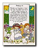 The Lord Is My Shepherd Bible Wall Decor Art Print Poster (11x14)