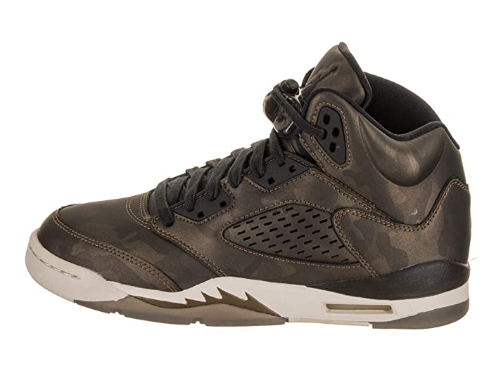 sale retailer cec32 76f89 Amazon.com   Nike Kids Air Jordan 5 Retro 440888 100 White Fire Red Black  Basketball Sneaker (kids 7, White Fire Red Black)   Basketball