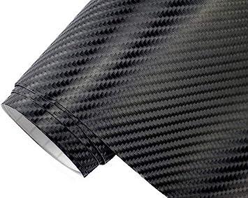 5 9 M 4d Carbon Folie Schwarz 4d 30 X 152 Cm Auto Folie Blasenfrei Selbstklebend Klebefolie Auto