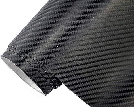 Neoxxim 4 60 M2 Premium Auto Folie 4d Carbon Folie Schwarz 4d 100 X 150 Cm Blasenfrei Mit Luftkanälen Ca 0 15mm Dick Folierung Folieren Bekleben Küche Haushalt