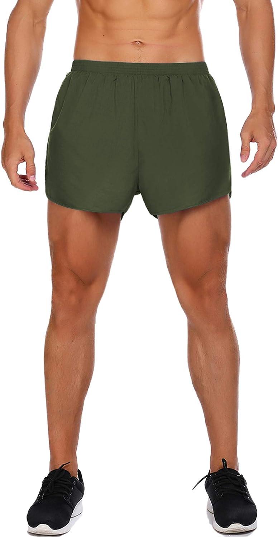 Coofandy Short de Course pour Homme Ultra L/éger Respirant Gym Entra/înement Musculation Jogging Cyclisme Short avec Poches
