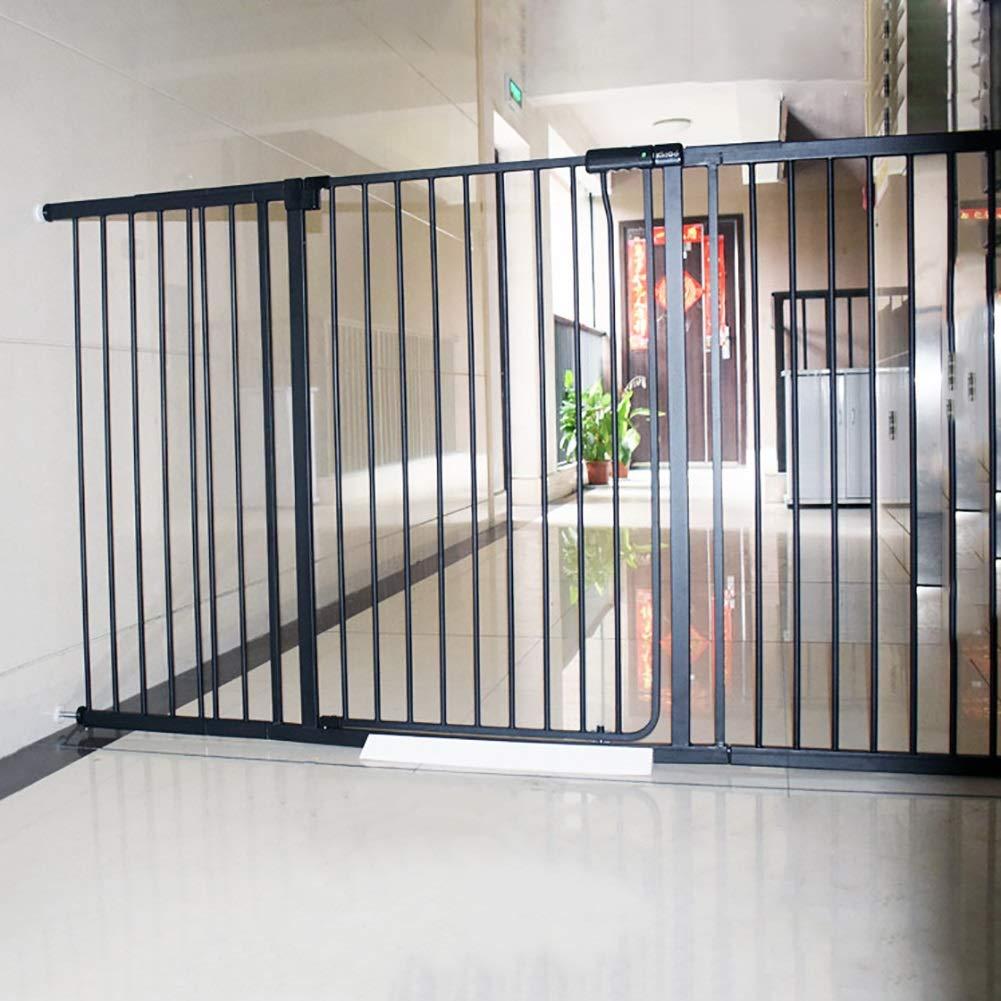 赤ちゃん幼児階段ガードフェンス、子供の安全ドアペットフェンス分離ドア、黒、高さ81 Cm / 100 Cm (色 : Height 100cm, サイズ さいず : W 133-139cm) W 133-139cm Height 100cm B07QCWKJ3B