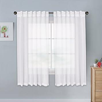 Amazoncom Pony Dance Sheer Curtain Valances Home Decor Linen