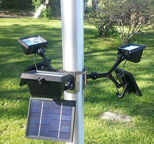 Inground Led Flagpole Light in US - 9