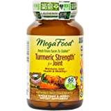 MegaFood - Turmeric Strength for Joint, Supports Joint Health & Mobility, 60 Tablets (FFP)