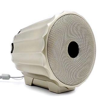 Cajas acústicas Subwoofer inalámbrico Bluetooth Altavoz de alta calidad mini (98 * 95 * 100MM) (Color : Gold) : Amazon.es: Oficina y papelería