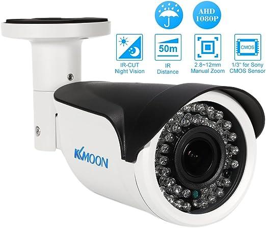 Kkmoon 1080p Ahd Bullet Cctv Analog Kamera 2 8 12 Mm Elektronik
