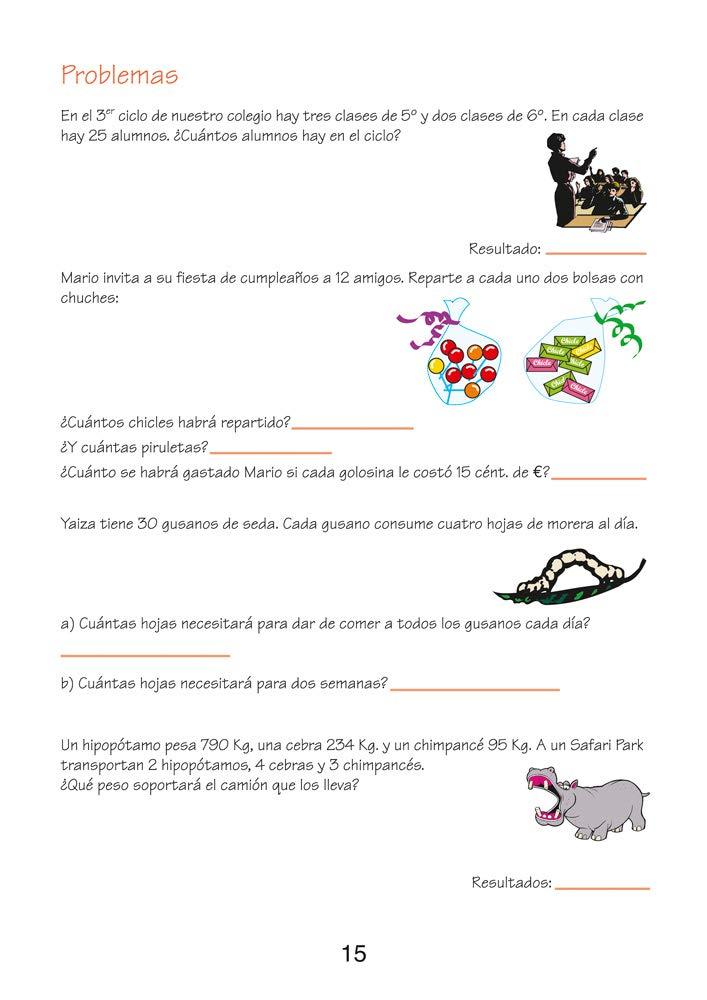 MATEMATICAS FACILES 15 (PRIMARIA Y REFUERZO PARA 1er CICLO ...