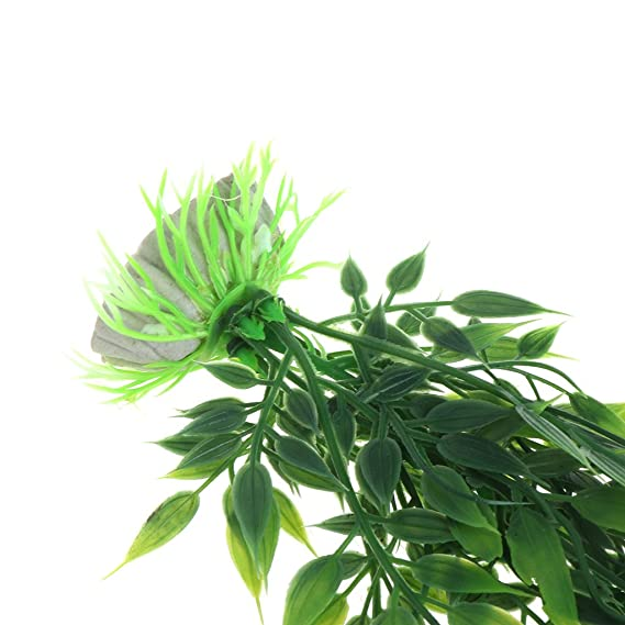 Lunji Planta acuática para Acuario (Longitud Extra, Decoración de Césped para pecero): Amazon.es: Productos para mascotas
