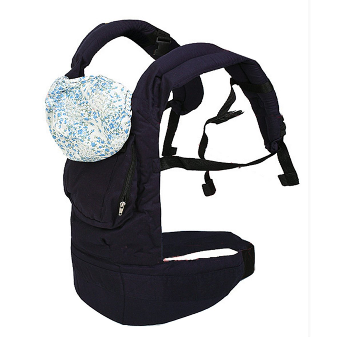 BBCL295 New Dark Blue Front Back Baby Safety Carrier Infant Comfort Backpack Sling Wrap Harness BabyCentre