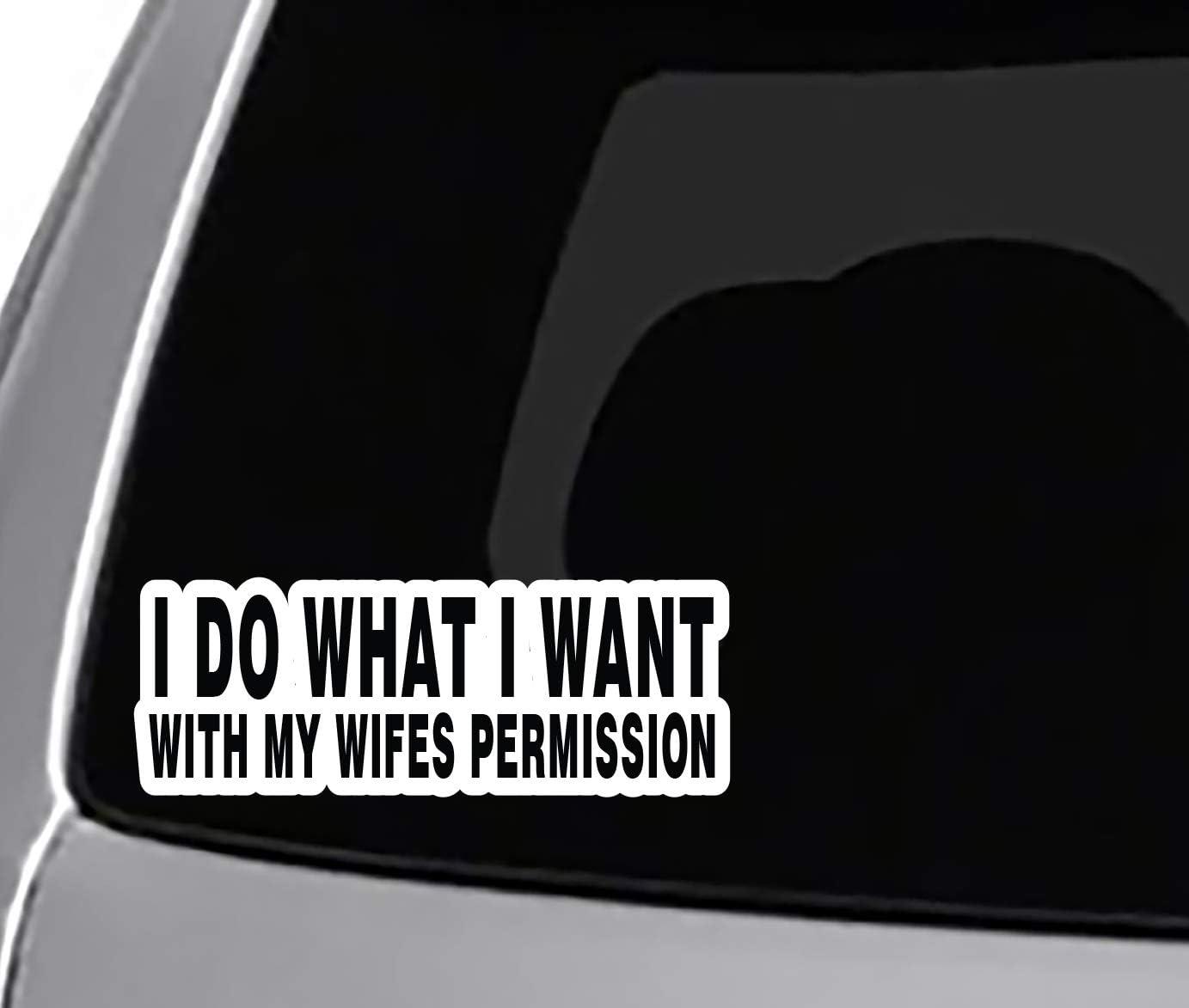 Rogue River Tactical I Love My Wife Sticker Husband Heart Oval 5x3 Car Truck Window Decal Bumper Sticker