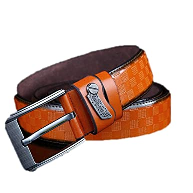 New Mens Fashion Belts 120cm Leisure Business Casual Wild High Grade