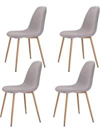 wooden dining room chairs. Giantex  Kitchen Dining Room Chairs Amazon com