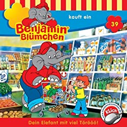 Benjamin kauft ein (Benjamin Blümchen 39)