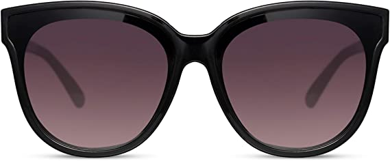 Cheapass Sunglasses Oversized Flattop XXL UV400 Designer Shades Womens