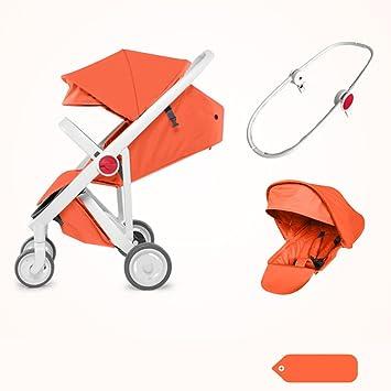 &Carrito de bebé carrito de bebé Paisaje alto Puede sentarse ...