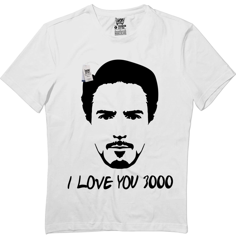 Tony 3000 Tshirt I Love You Iron Dad Proud Tshirt