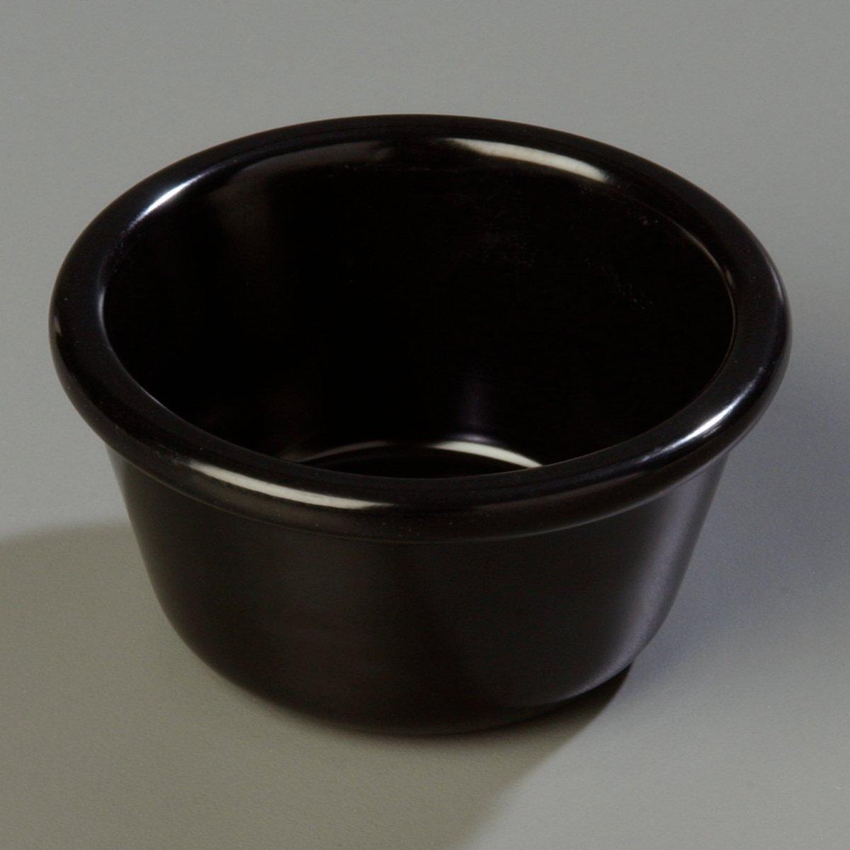 Carlisle S28503 Melamine Smooth Ramekin, 4 oz. Capacity, Black (Case of 48) by Carlisle (Image #9)