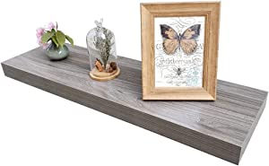 Homewell Wood Floating Shelves for Home Decoration, 36
