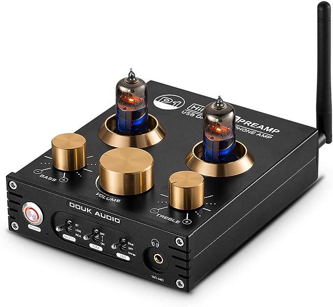 B Blesiya HIFI 6J5 Vacuum Valve Tube Pre Phono Pre Audio Stereo Turntable