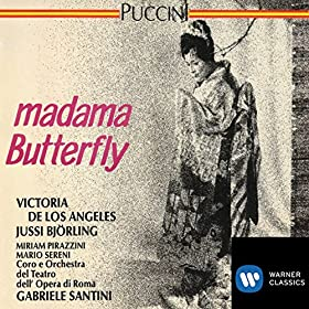 Amazon.com: Puccini: Madama Butterfly: Roma/Orchestra del Teatro dell