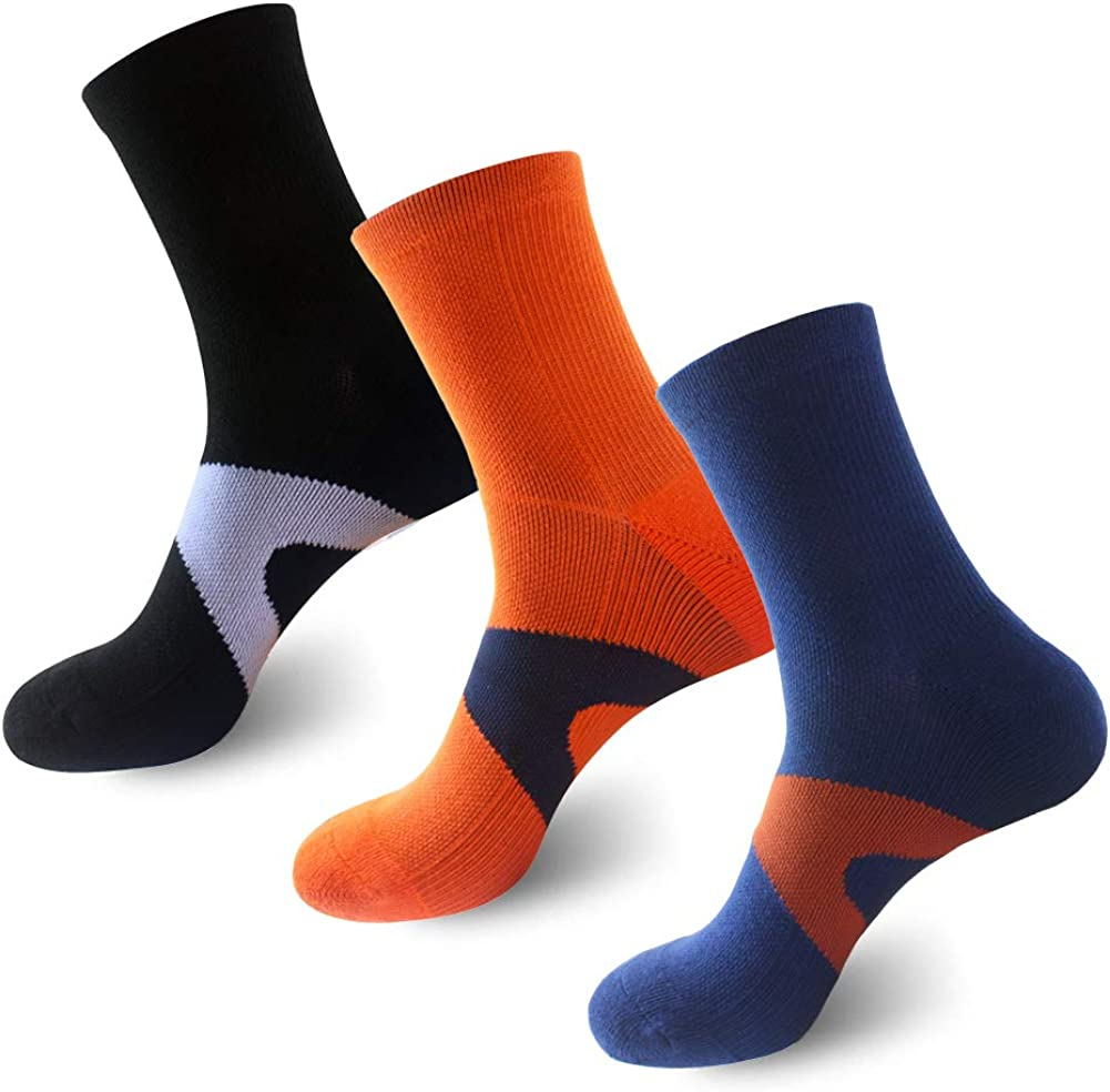 Copper Infused Athletic Cushion Ankle Quarter Socks Moisture-wicking Low Cut Socks for Mens and Womens