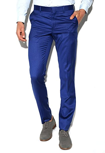916a44b9f Perry Ellis Pantalón Azul Rey Pantalones para Hombre Azul Talla 36 ...