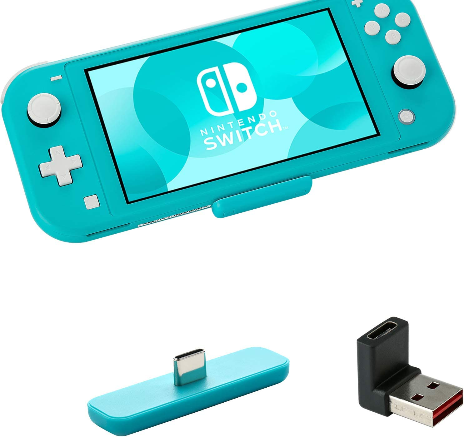 GULIkit Route Air Adaptador Bluetooth para Nintendo Switch/Switch Lite PS4 PC, Transmisor Bluetooth Audio con aptX de Baja Latencia Compatible con Airpods Bose Sony y Auriculares Bluetooth - Azul