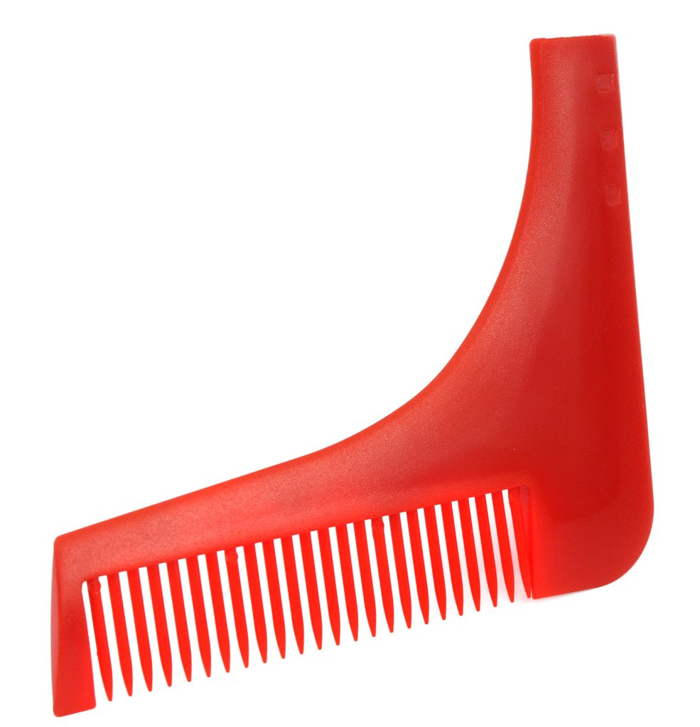 Beard Styling Comb and Shaping Template Comb Tool