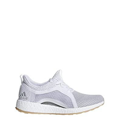 bb1d080743826 adidas Pureboost X Clima Shoe - Women s Running 5.5 White Silver  Metallic Grey