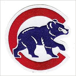 0dfc23363ea Amazon.com   The Emblem Source Chicago Cubs Home Jersey Sleeve Patch    Sports Fan Jerseys   Books