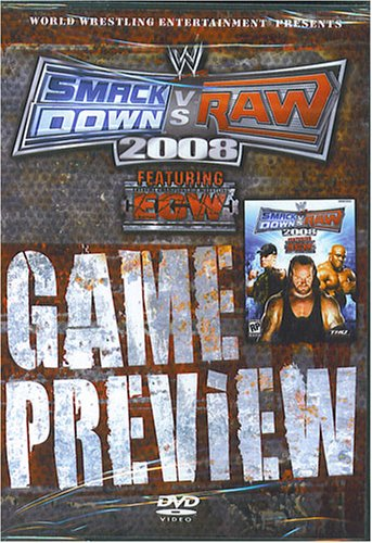 WWE Smackdown vs Raw 2008 DVD Game Preview (Best Wwe Game For Xbox 360)