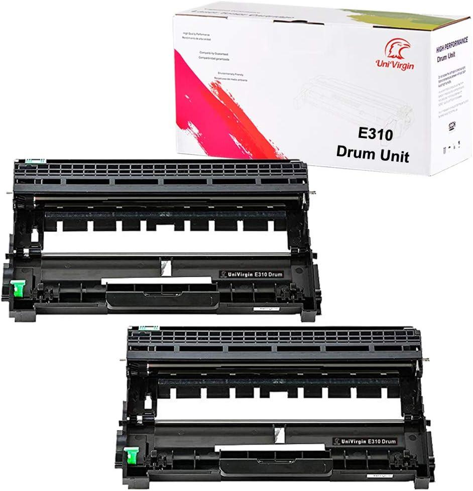 Compatible E310 E514 E515 Drum Unit Replacement for Dell E310dw E514dw E515dw E515dn Drum Unit (Dell PVTHG, 593-BBKD, P7RMX) by UniVirgin - 2 x Drum