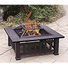 Axxonn 32 alhambra fire pit with cover for Amazon prime fire pit