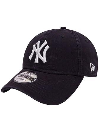 New Era Team Unstrctd 9Twenty Adjustable NY Yankees Dunkelblau, Size ONE  Size  Amazon.de  Bekleidung 3d34405fec